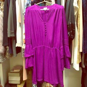 Parker belle sleeve dress